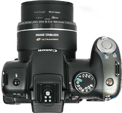 Canon PowerShot SX20 IS Review
